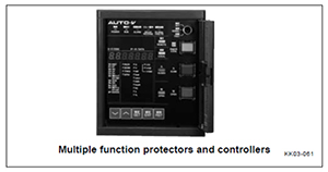 Multiple function protectors and controllers