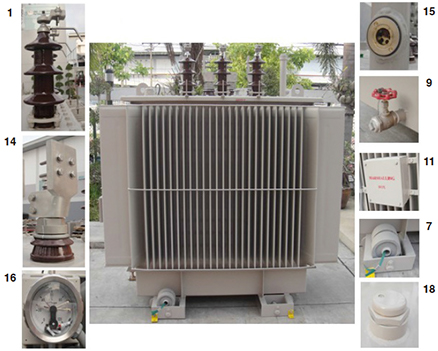 Specifications | Oil Immersed Transformer | Fuji Electric