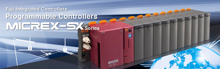 Fuji Integrated Controllers Programmable Controllers MICREX-SX Series